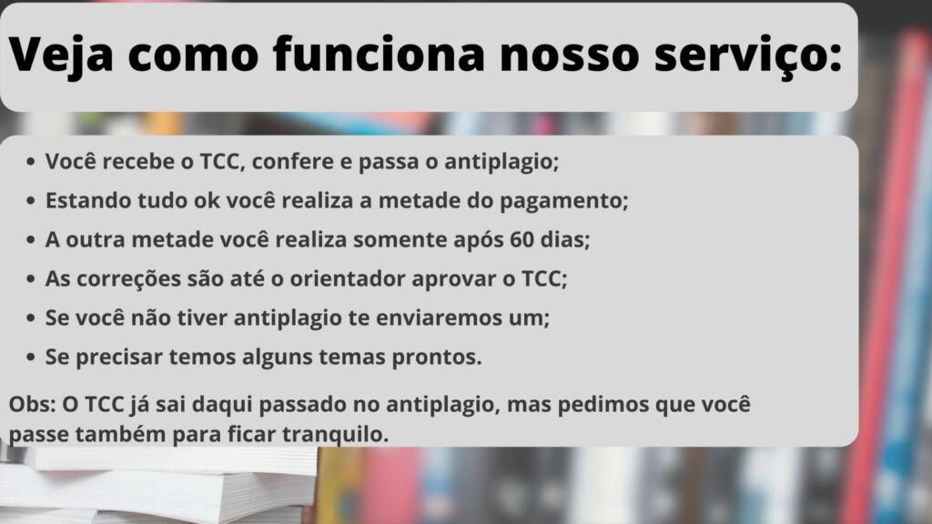 Comprar TCC em Curitiba - Pagamento após entrega
