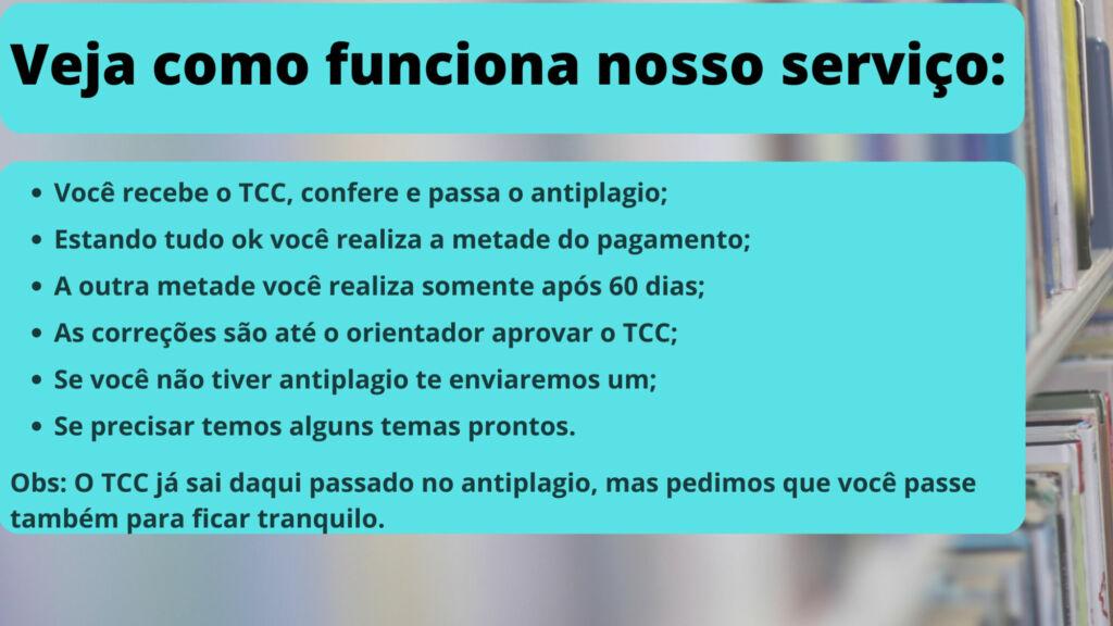 Comprar TCC em porto Alegre - pagamento após entrega