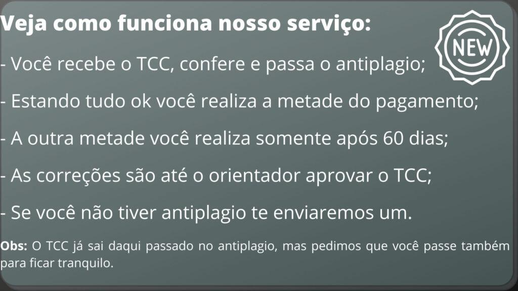 Comprar TCC em Salvador - Pagamento após entrega