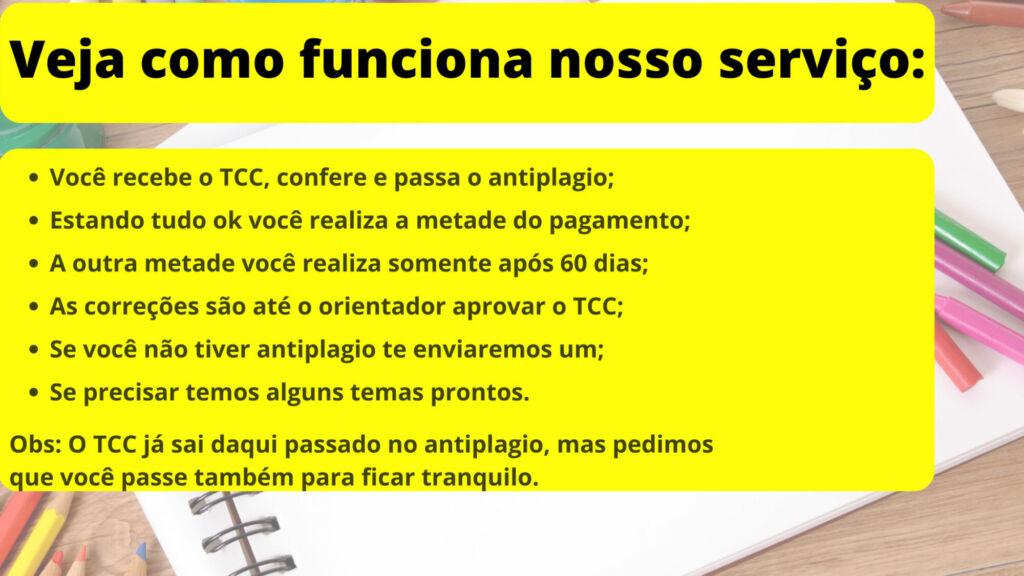 Comprar TCC em São Gonçalo - Pagamento após entrega